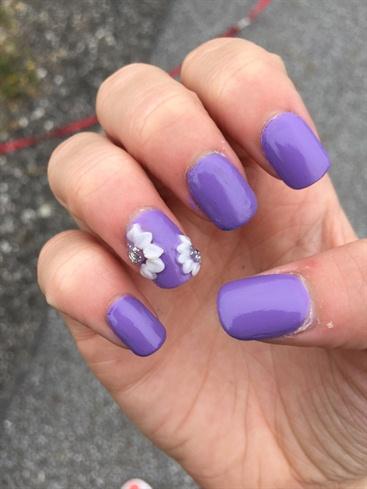 Purple Acrylic