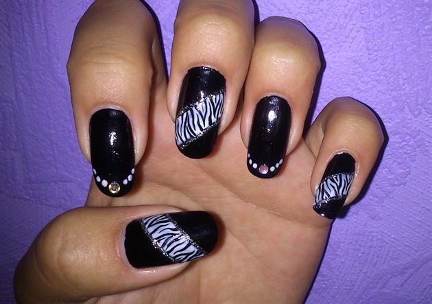 Black & Zebra