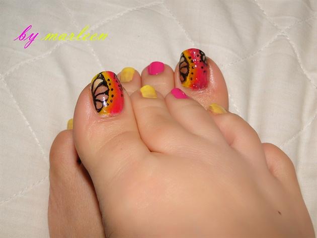 yellow &pink