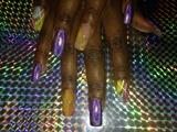 Purple And Devine...