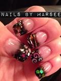 Elegant Glass Nails ART