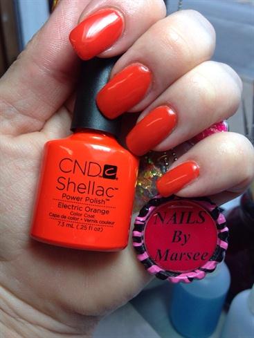 Shellac Summer Orange