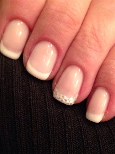 Basic natural nail French