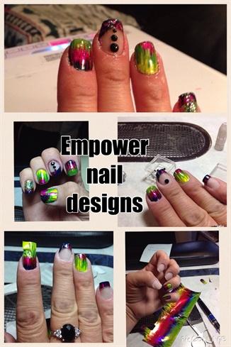 Empower Nail art