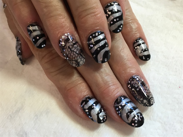Chrome Zebra Lace