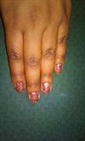 Henna Inspired Nail Design