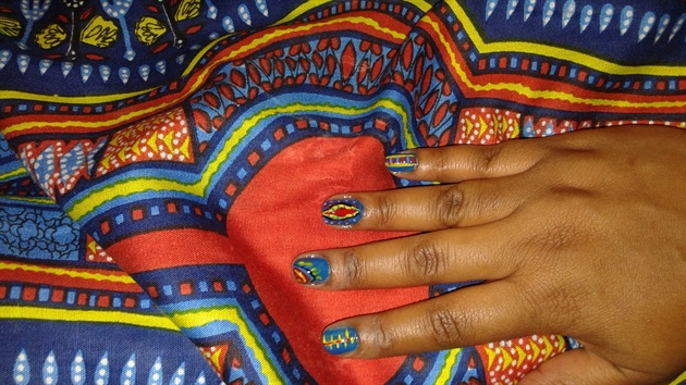 Dashiki Nails