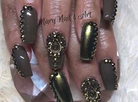 nail art: Mary Nails Art