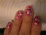 nail polish,and stamper