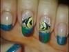 fish nail art