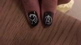 Avengers Nail Art