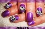 tigre violet