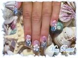 ocean nails!