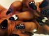 I call it Goth glam stilettos