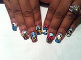 Walt Disney Nail