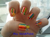 Fruit's nail art
