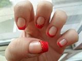 Red Velvet nail art