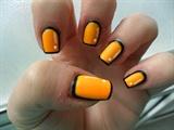 Cartoon effect nails
