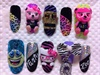 Party Rock nails