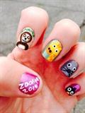2014 Zoofari nails