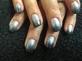Ombré Silver/black