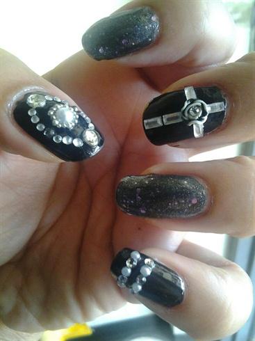 Goth Nail Art - Nail Art Gallery