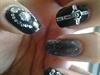 Goth Nail Art
