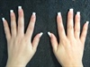 Natural Tips With French Gel Overlay