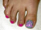 basket weave toes