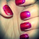 Pink Glitter Ruffian