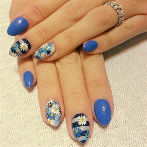 flowers  nail art gallery