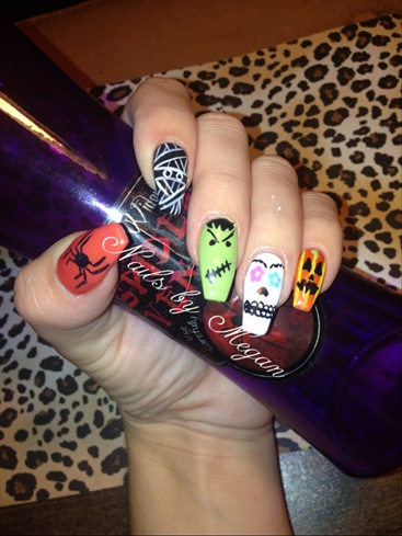 Halloweennails