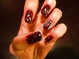 Red n Silver Leopard