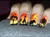 African Safari Nails