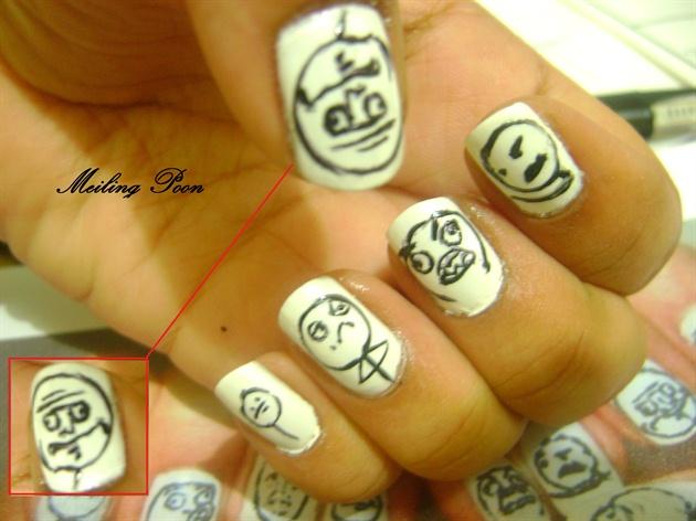 Meme Nails Nail Art Gallery