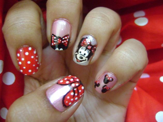 Cute Nail Art Designs Simple Tall 1 Week Nail Polish Flat Nail Art For Round Nails Nail Art I Old What Is A Top Coat Nail Polish ColouredEssie Nail Polish Nz Minnie Mouse   Nail Art Gallery