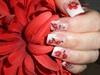 flower gel nails