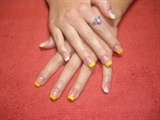 yellow tips
