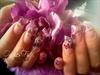pink purple glitter