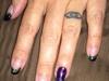 Mardi Gras!!!  Nails!!!