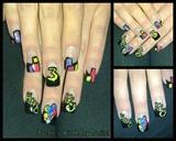 happy birthday nails!