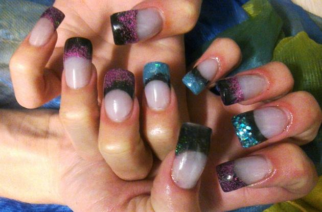 glitter acrylic mixes