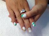 white turquoise