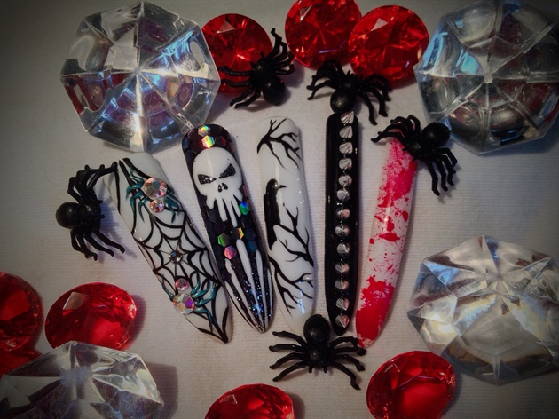 Halloween Mix Nails