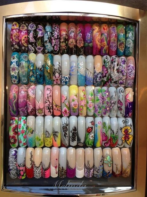 Nail art samples - Nail Art Gallery