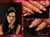 Dark bride nails