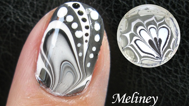 WaterMarbleNails www.Youtube.com/Meliney