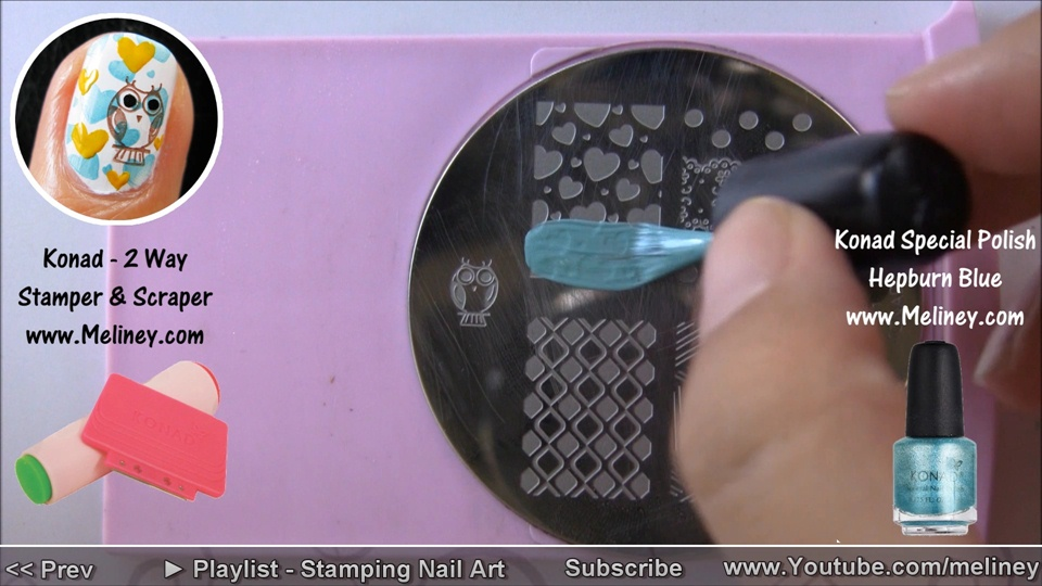 Owl city nails youtubemeliney nail art gallery step by owl city nails youtubemeliney step by step nail art tutorial prinsesfo Gallery