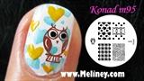 Owl City Nails www.Youtube.com/Meliney