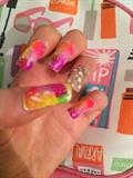 Cute Nails 😍😍🌺🌹💝💅💅💅💏